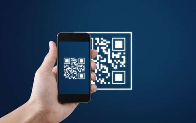 How to save the QR code on the phone