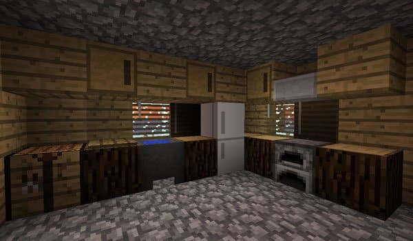 How To Make A Kitchen In Minecraft Creative Stop