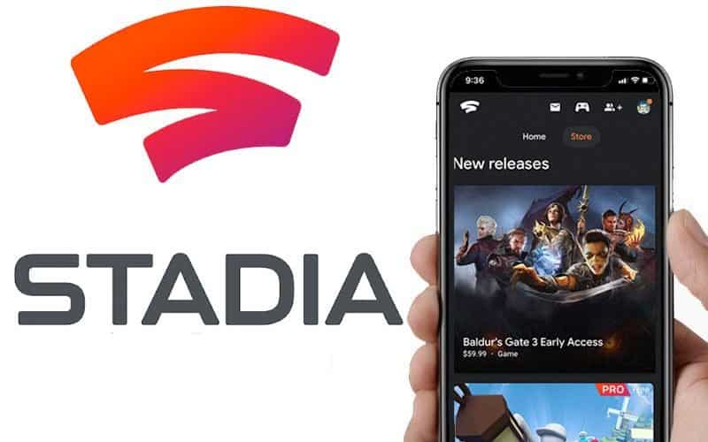 jugar Google Stadia en iPhone y iPad
