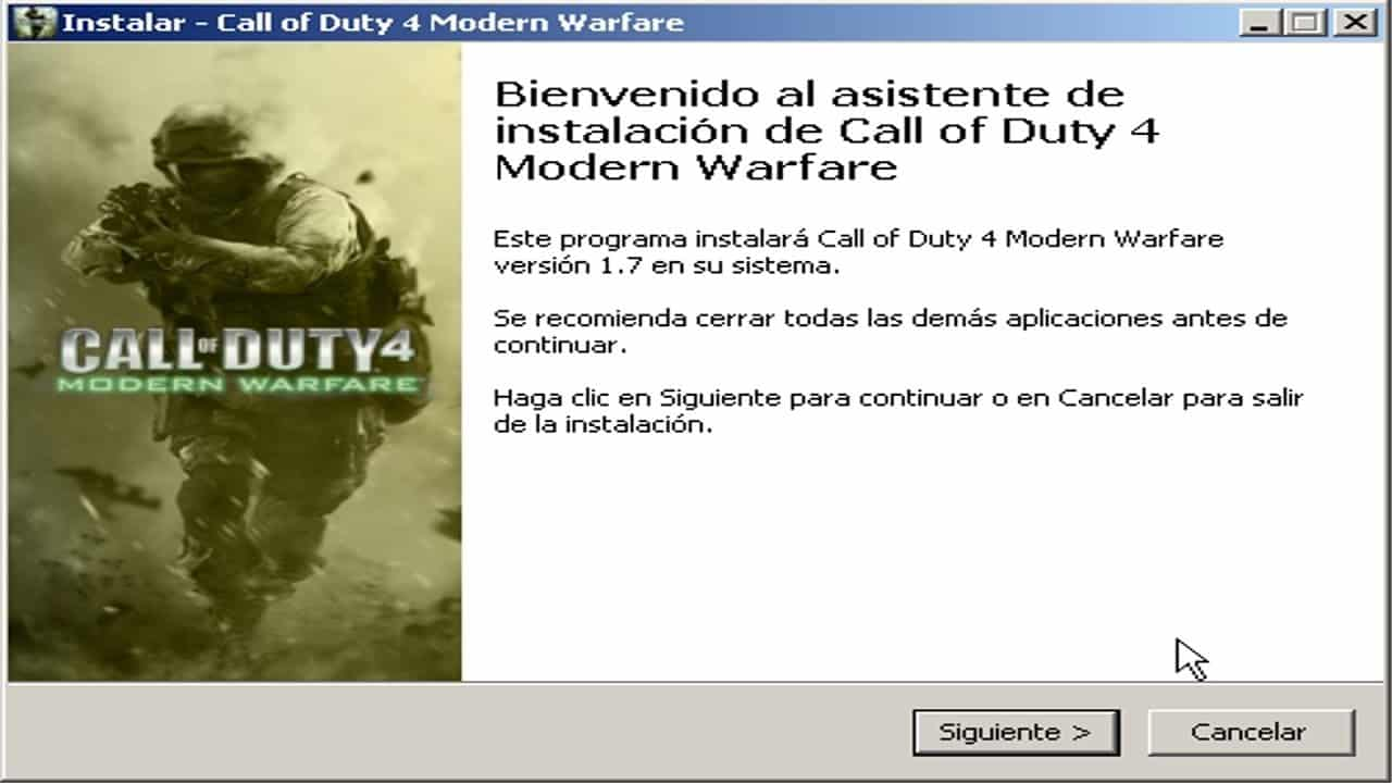 Call of Duty 4 Modern Warfare descargar