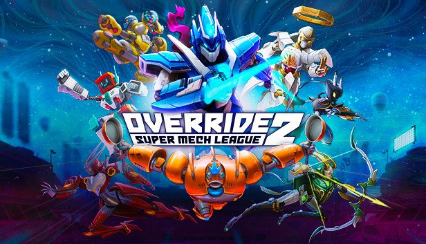 Override 2 Super Mech League portada