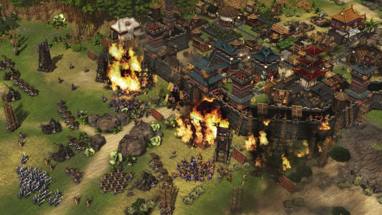 Stronghold Warlords asentamiento
