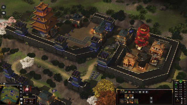 Stronghold Warlords castillo