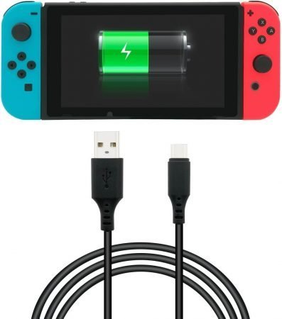 Usar cable USB-C en Switch