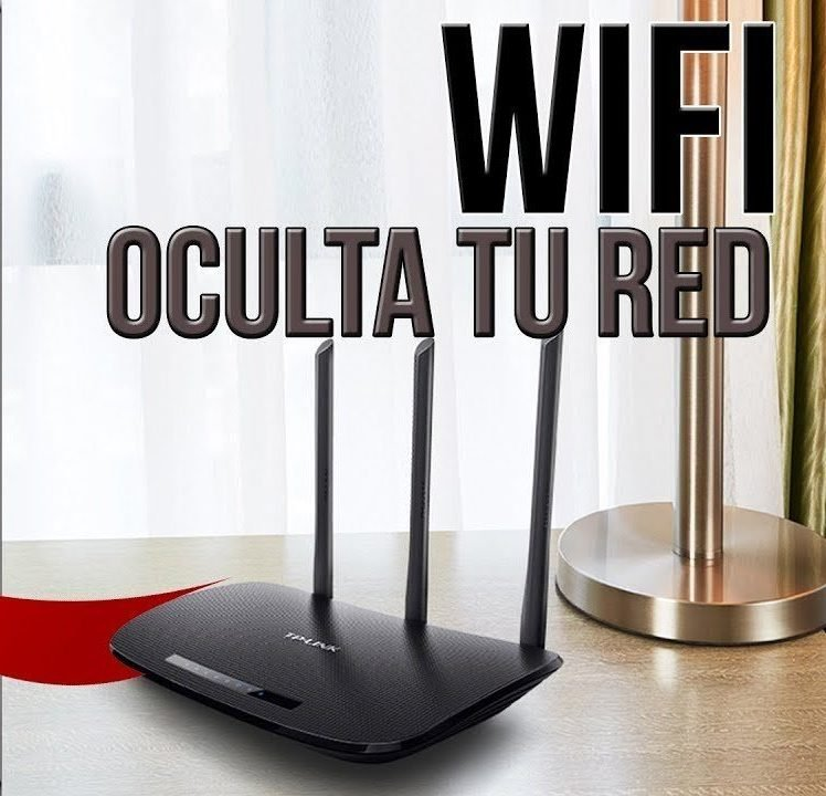 como ocultar red wifi