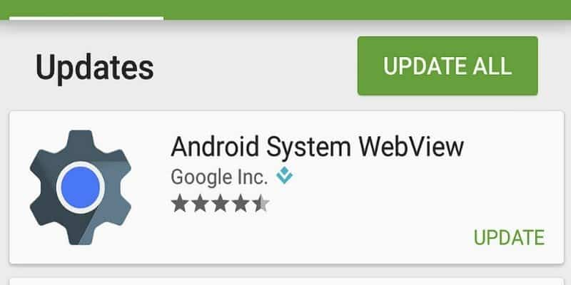 Webview ระบบ Android