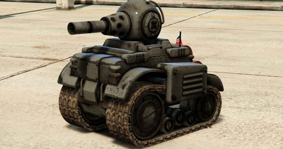 Tanque Invade and Persuade GTA